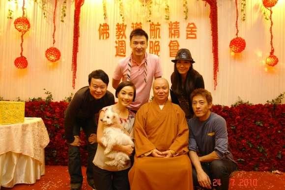 藝人江美儀、胡渭康、呂仲賢及麥景婷出席週年晚會 <24-7-2010>