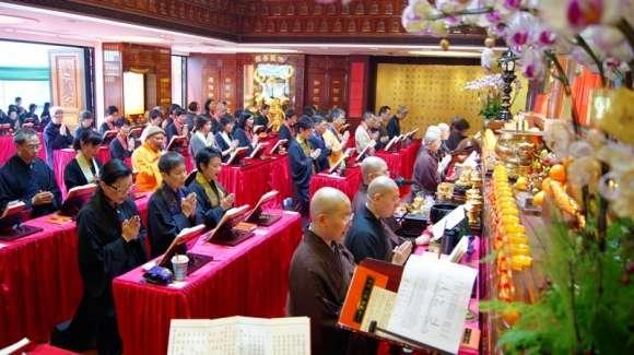 梁皇寶懺法會 2011